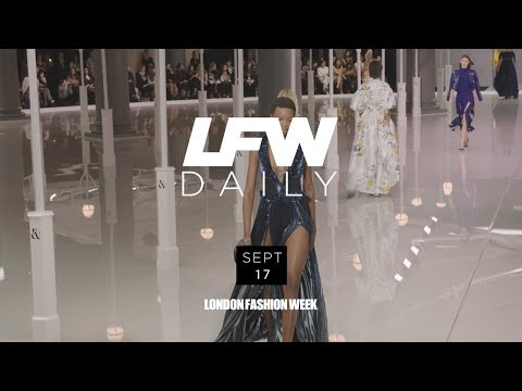 LFW September 2017 | Day 1 Highlights with Creative Director of PAPER Drew Elliott