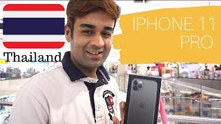 iPhone 11pro second day of release in Bangkok Thailand