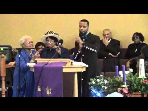 Rev. Washington preaches a Voice in the Wilderness November 29, 2015
