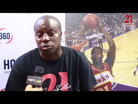 Dominique Wilkins Basketball Camp | SSA | CBA Sports -Coaches Interviews