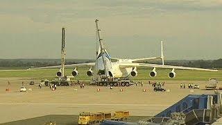 Größtes Flugzeug der Welt macht Zwischenstopp in Zagreb