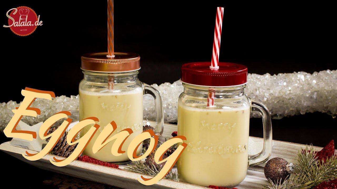 Eggnog Rezept | zuckerfrei und Low Carb | Weihnachtsgetränk ...