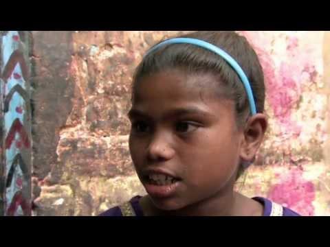 Drew talks with Aarti (India Slums)