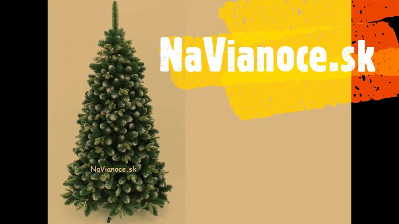 c9f1fbd29 Vianočný stromček s 3d ihličím a 3d snehom.