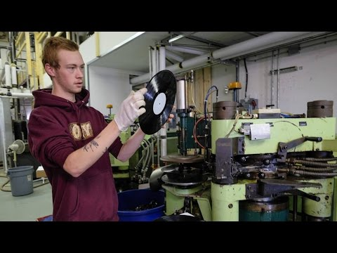 Vinyl record pressing plant up and running in Calgary