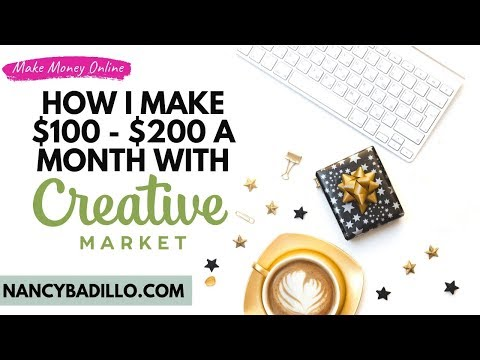 Affiliate Marketing Step by Step With Creative Market | Nancy Badillo thumbnail