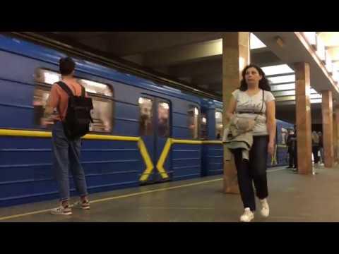 Станция метро Контрактовая площадь / Киевское метро