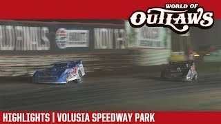 World of Outlaws Craftsman Late Models | Volusia Speedway Park 2/17/18