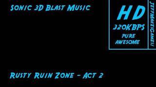 Sonic 3D Blast Music - Rusty Ruin Zone - Act 2 Resimi
