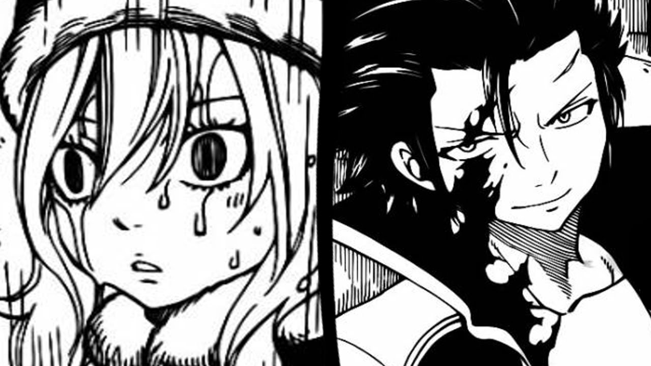 Fairy Tail Chapter 424 フェアリーテイル Reaction Natsu Vs Gray ...
