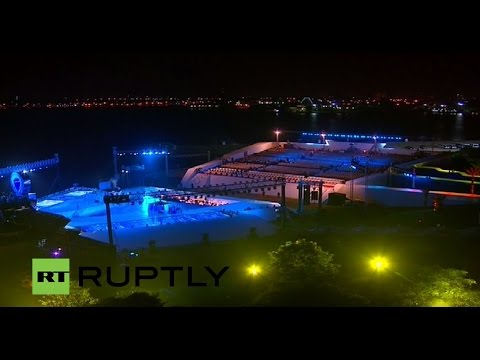 LIVE: Opening of the Suez Canal's new waterway - Musical and