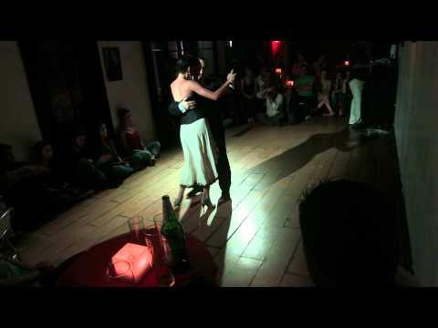 Melisa Fardin y Pablo Conde - El llorón - Hugo Diaz - en Abrazando Tangos