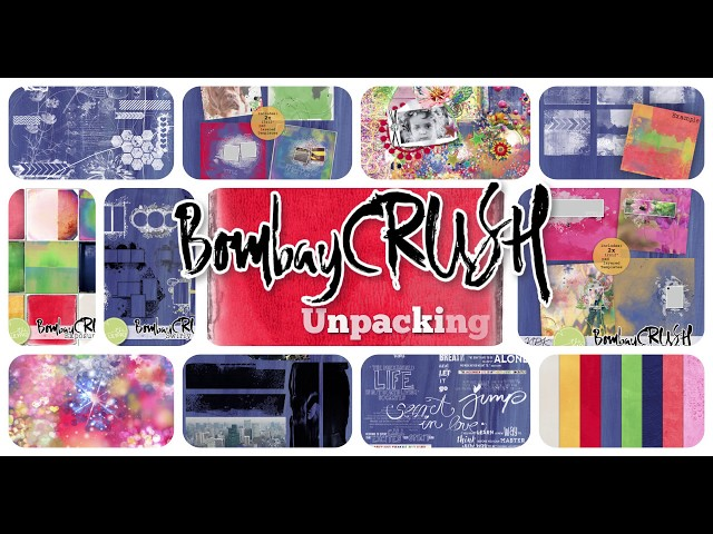 Bombay Crush Collection - UNPACKING - by NBK-Design