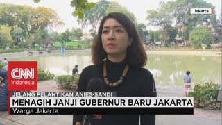 Menagih Janji Gubernur Baru Jakarta - Jelang Pelantikan Anies-Sandi