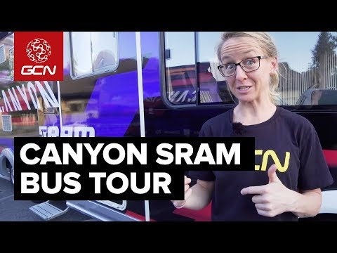 Inside The Canyon//SRAM Team Bus