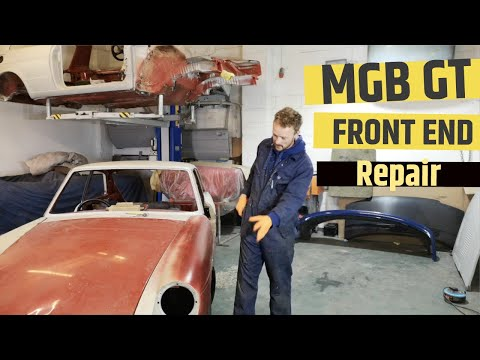 MGB Front End Alignment - MG GT Restoration