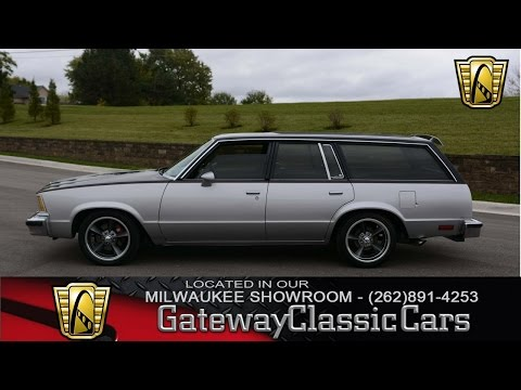 Now Featured in our Milwaukee Showroom: 1979 Chevrolet Malibu Wagon #117 MWK