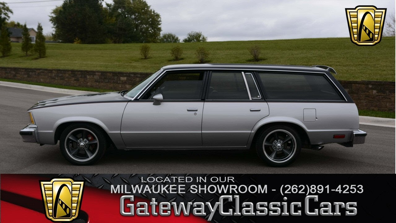 2016 Chevy Malibu For Sale >> Now Featured in our Milwaukee Showroom: 1979 Chevrolet Malibu Wagon #117 MWK - YouTube