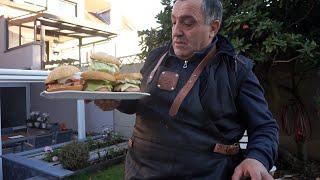 Гамбургер из Рыбы на мангале