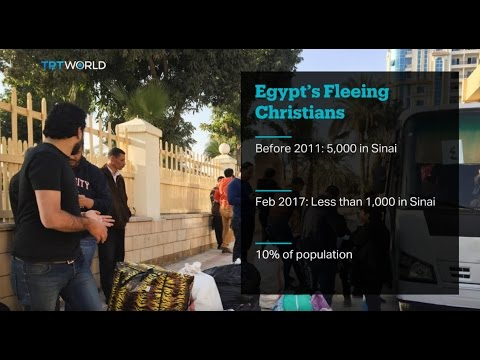 Egypt Coptic Killings: Hundreds flee Sinai Peninsula for a fourth day
