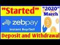 Zebpay Instant Deposit  Zebpay Live Bitcoin Buying  Zebpay Live Trading