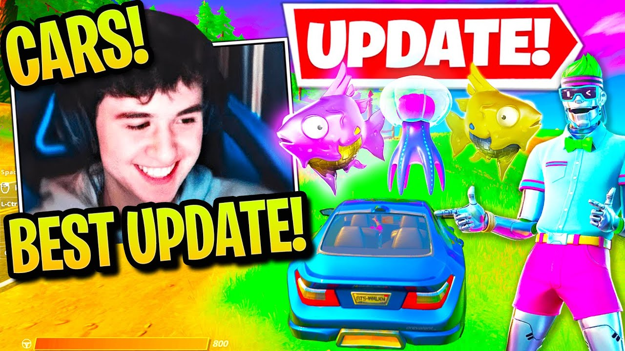 STREAMERS USE *NEW* CARS & UPGRADED FLOPPERS! (CRAZY UPDATE!)