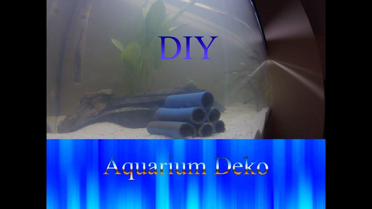 DIY Aquarium Deko - YouTube