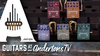 New Fender Pedals - So good you'll want to play them All Day Long!