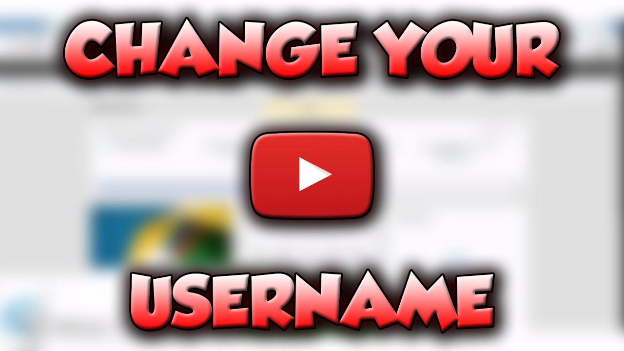 Watch How to Change Your Username on YouTube video