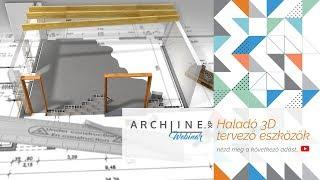Haladó 3D tervező eszközök - ARCHLine.XP Webinar