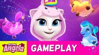 🦄 Unicorn Mini Game 🦄 in My Talking Angela NEW UPDATE