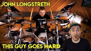 Drum Teacher reacts to John Longstreth (Origin - Invariance Under Transformation)