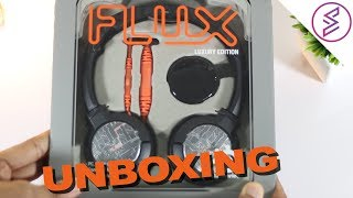 Steel Series Flux Headphone Unboxing