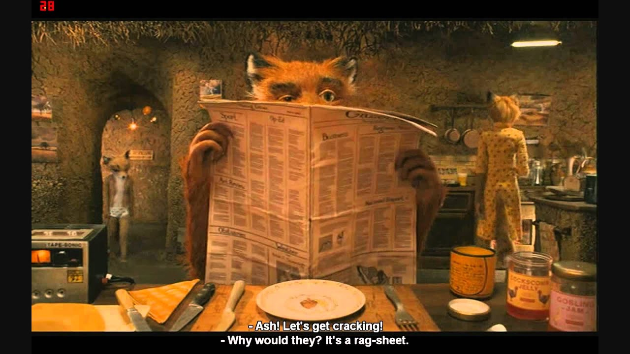 the fantastic mr fox i love the way you handled that hd