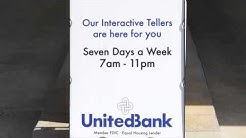 United Bank Improves Customer Experiences with NCR Interactive Teller -- 7 Days a Week