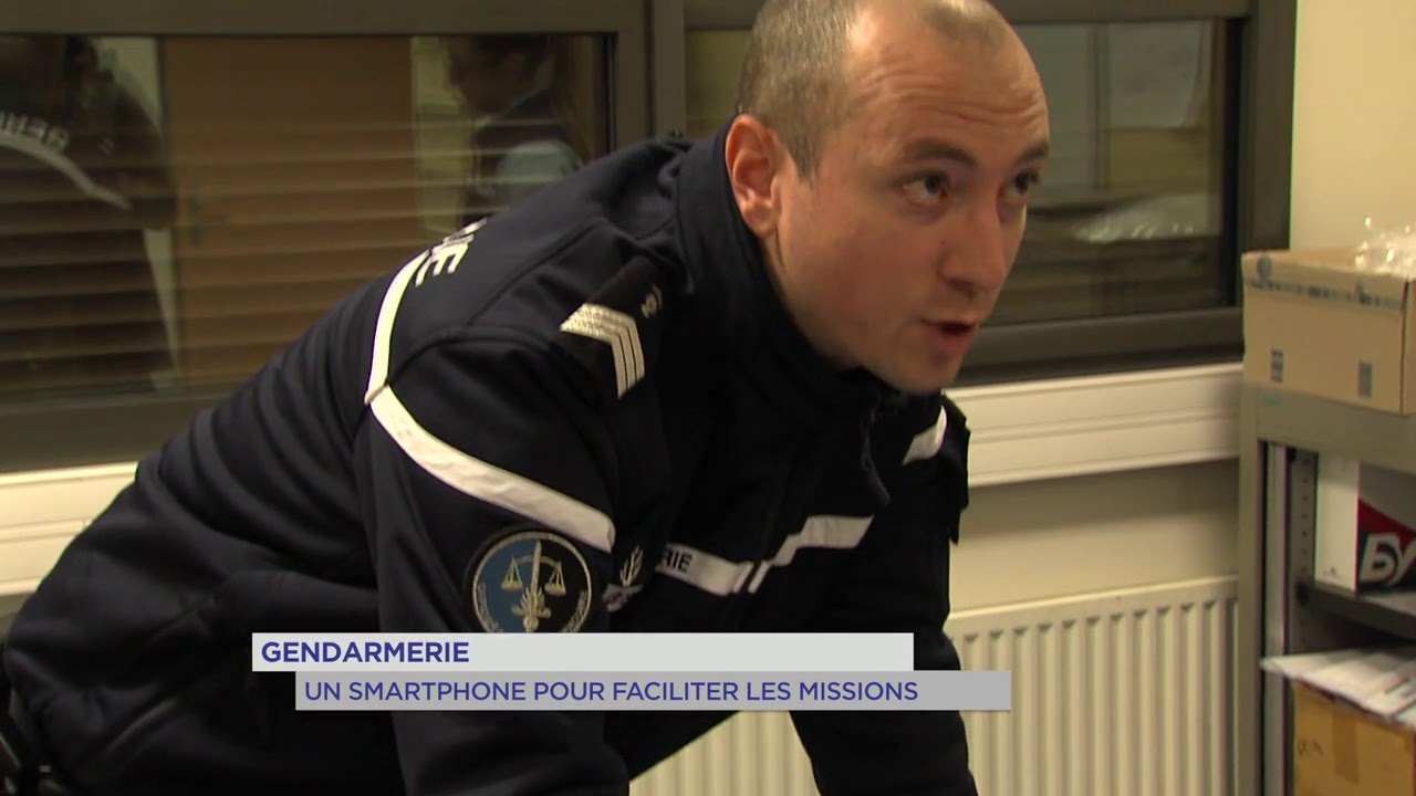 Gendarmerie : un smartphone pour faciliter les missions