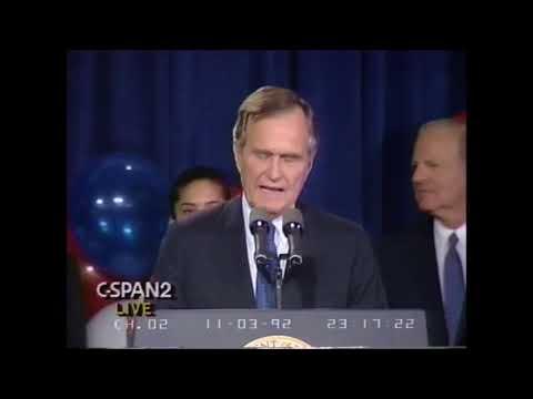 1992 President Bush Concession Speech