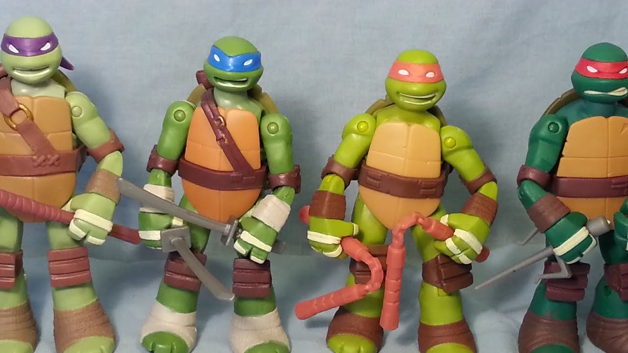 Figure Review Nickelodeon Tmnt Battle Shell Leonardo
