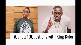 #Janets10Questions with King Kaka