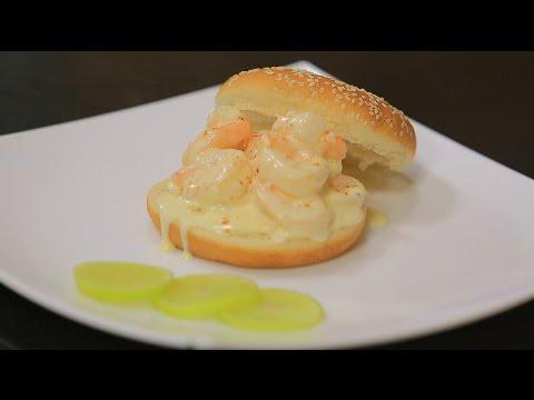 سندوتش جمبري بصوص الكريمة و الزبدة : شريف الحطيبي