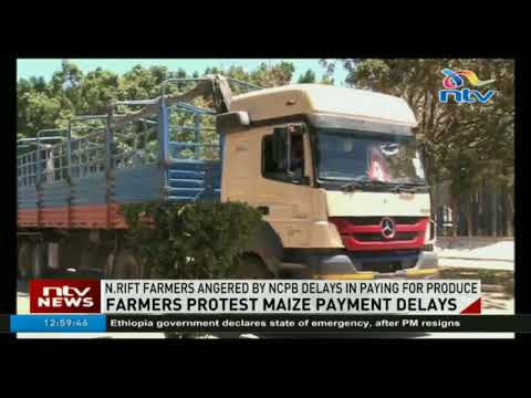 North Rift farmers angered by NCPB delays in paying for produce