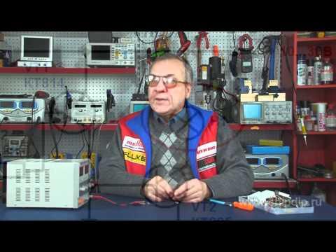 Простая схема прерывателя тока