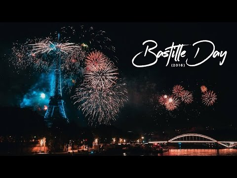 Celebrating Bastille Day in Paris, France (2016)