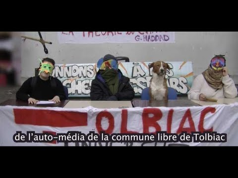 La vidéo virale des étudiants masqués de Tolbiac