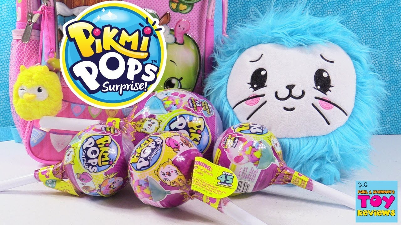 Pikmi Pops Surprise Plush Blind Bag Opening Toy Review
