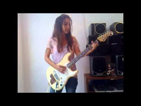 Increíble cover de Jimi Hendrix por la guitarrista Eva Vergilova
