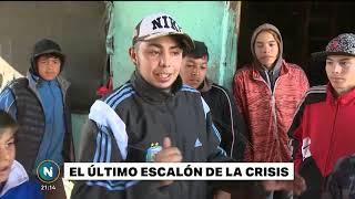 Argentina 2018: comen palomas, iguanas y cuis para sobre vivir