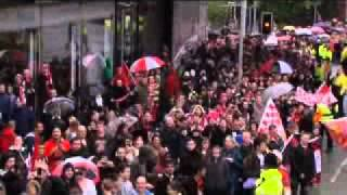 Manchester United Official Web Site - Video- Manchester United parade.  by twitter @Abu_salamah