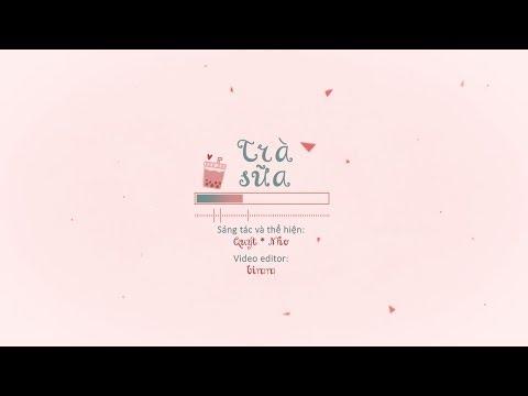 Trà Sữa 🌸 Quýt (Orange) & Nho | Lyric Video | Bimm