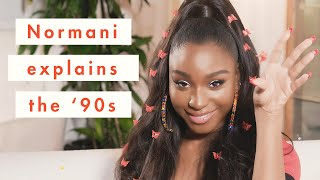 Normani Breaks Down the Very Best '90s Trends | Cosmopolitan